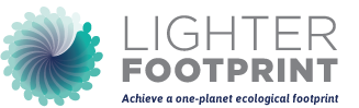 Lighter Footprint logo